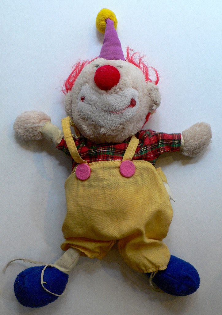 Clown en Peluche 1970